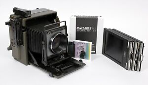 Graflex KE-12 Army Speed Graphic 4X5 camera with 150mm F2.8 MC lens #930