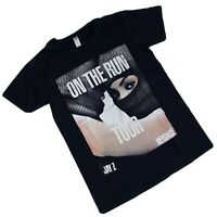 JAY Z BEYONCE ON THE RUN TOUR 2014 men's t-shirt Front And Back Print Size S