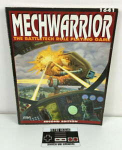 MechWarrior The Battletech Role Playing Game Book 1641 RPG 90s 1990 Vintage