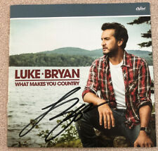 """Autographed LUKE BRYAN """"What Makes You Country"""" CD SIGNED Beckett Authentication"""