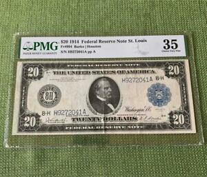 1914 $20 St. Louis Federal Reserve Note Fr. 994 - PMG Choice Very Fine VF 35 C2C