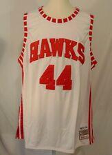 Pistol Pete Maravich #44 Atlanta Hawks NBA Jersey Mens 60 Mitchell & Ness NWT