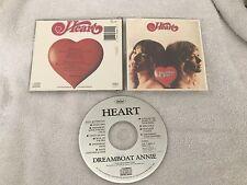 HEART DREAMBOAT ANNIE ORIGINAL CAPITOL CD MADE IN JAPAN RARE OOP