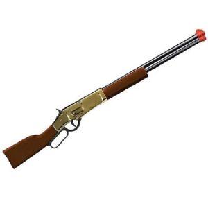 Cap Gun Rifle Golden Ranger Lever Action Wood & Metal 1866 Winchester Cimarron