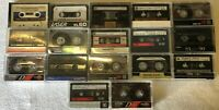 Lot Of 20 Pre-recorded Cassette Tapes Use As Blanks TDK Maxell Realistic