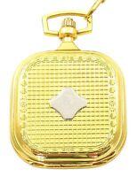 Taschenuhr Weiß Silber Gold Analog Quarz Herrenuhr D-50742413309350