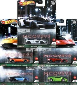 HOT WHEELS 2021 CAR CULTURE EXOTIC ENVY COMPLETE SET OF 5 CAR IN STOCK