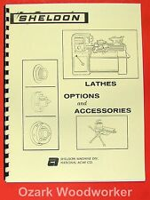 SHELDON Lathes Options and Accessory Catalog Manual 0654