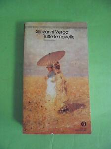 VERGA*TUTTE LE NOVELLE VOLUME PRIMO - MONDADORI 1983