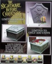 NIGHTMARE BEFORE CHRISTMAS PROP COFFIN 2003 WITH FIGURES - LIMITED EDITION 100