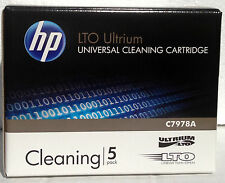 5 Pack HP C7978A Universal LTO Ultrium Cleaning Cartridge (NEW)