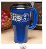 MLB Baseball San Diego Padres 16 ounce Roadster Tumbler Travel Mug Coffee Cup