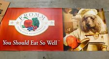 """FROMM Family Dog Food Banner puppy Nutrition Store Brand 6'x30"""""""