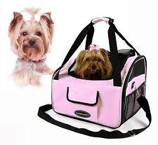 Valentina Valentti Luxury Dog Cat Puppy Pet Car Seat Carrier V4 Pink