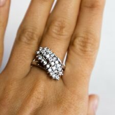 Vintage 10 karat multi Diamond Ring