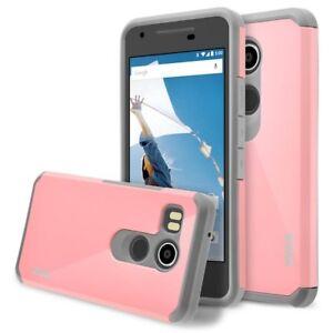 For Nexus 5X Case, Hard Impact Dual Layer Shockproof Bumper Case