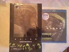 Alien NECA 2015 Xenomorph Figure And Alien Blu Ray With Digital Copy New