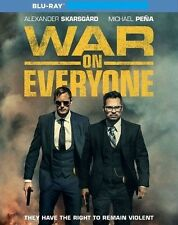 War on Everyone (Blu-ray, 2017) No DVD No Digital Code