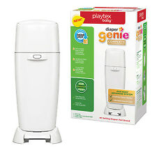 Baby Diaper Genie Complete Pail Antimicrobial Odor Lock Disposal Trash Can New