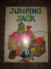 Jumping Jack by May Justus SIGNED Vintage Children's Paperback 1974 RARE Bright!