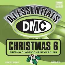DMC DJ Essentials Christmas Vol 6 Fresh & Classic Christmas Cuts & Remixes Xmas