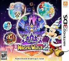 Disney Magical World 2. Nintendo 3DS. Mickey Mouse. Free Shipping. Fast Shipping