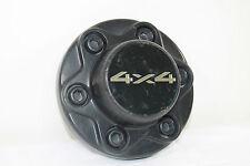 Chevy GMC 1500 black wheel center cap hubcap 4x4 Gold lettering oem 6 Lug