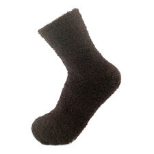 Women Girls Soft Bed Floor Socks Fluffy Warm Winter Thicken Casual Solid Socks