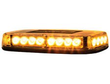 Buyers Products 8891042, Rectangular Amber/Clear LED Mini Lightbar, 12-24V