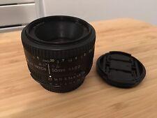 Nikon NIKKOR 50mm f/1.8 D SIC AF M/A Ai Lens