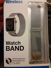 WATCH BAND Stainless Steel bracelet magnetic clasp fits APPLE WATCH NEW IN BOX