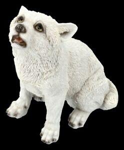 Wolf Baby Figur - Winters Cry - Niedlicher Wolfwelpe Deko