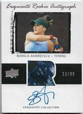 2020 Goodwin Champions Bianca Andreescu Exquisite RPA Patch Auto/Autograph #/99
