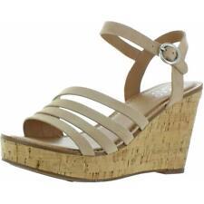 Franco Sarto para mujer CRISANIA Gamuza Zapatos Sandalias de cuña de corcho elegante BHFO 4140