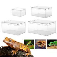 Reptile Cage Pet Terrarium Feeding Tank For Lizard Spider Insect Breeding Box
