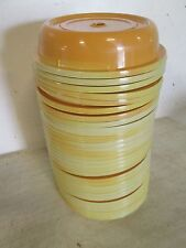 """LOT OF (33) """"ACE"""" H.D. COMMERCIAL STACKABLE 10"""" PLATE POLY DOME COVER/LIDS"""