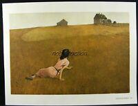 Andrew Wyeth Gravure Print CHRISTINA'S WORLD & WEATHER SIDE, Olson's