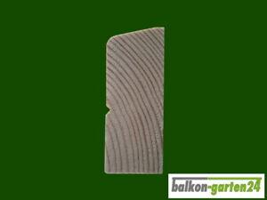 Querriegel für Holzbalkon, Balkongeländer - Länge 200 cm - nordisch Fichte