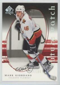 2005-06 SP Authentic Limited /100 Mark Giordano #255 Rookie