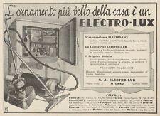 Z1149 Aspirapolvere ELECTRO-LUX - Pubblicità d'epoca - 1933 Old advertising