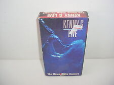 Kenny G Live The Home Video Concert VHS Video Tape Music