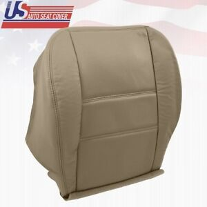 2003 2004 Driver Bottom Leather Perforated Seat Cover Fits Nissan Pathfinder TAN