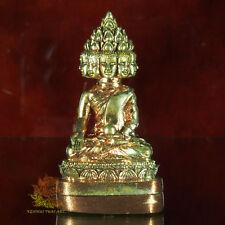 Thai Amulet PHRA SETTHI NAWAGOT 9 Faces Buddha Nawa LP Rail Wat Nongno BE2558