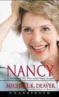 Nancy: A Portrait of My Years with Nancy Reagan by Michael K. Deaver Cassette