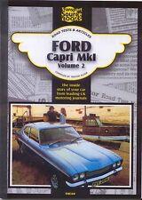 FORD Capri MK I VOLUME 2 TSB registro delle prove su strada e gli articoli 1300 1600 2000 3000