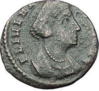 Saint HELENA - Constantine the Great Mother Authentic Ancient Roman Coin i61583