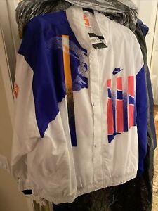 nike challenge court jacket - Agassi 1990 retro tennis jacket xxl