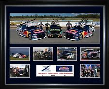 Red Bull Triple Eight Racing 2018 Framed Memorabilia