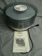 Aroma Dehydrator Afd-605 With Manual & Papers, No Box