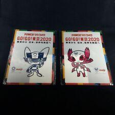 Tokyo 2020 Olympic & Paralympic Games Japan Memorial Plastic Posters Set 2 New